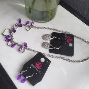 Brand New Necklace & Earring Set